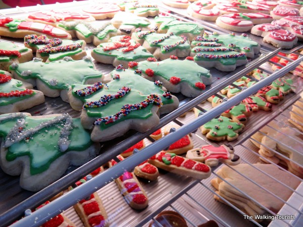 Winterfest holiday cookies