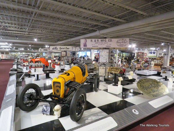 The Museum of American Speed offers visitors thousands of items to view.