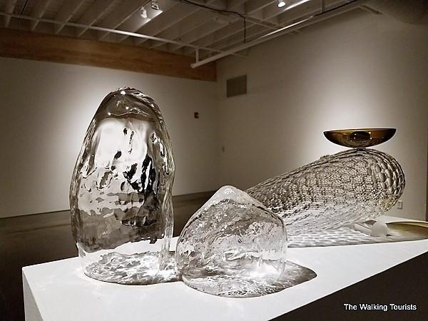 Glass art created by Nebraska artist Corey Broman