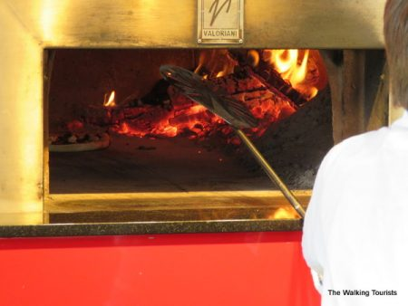 Neapolitan pizza takes about 90 seconds to cook.