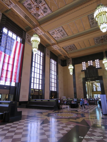 Durham Museum lobby
