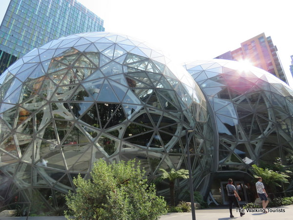 The Amazon Spheres.
