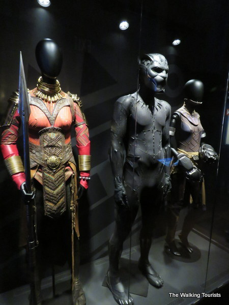 "Outfits worn by actors in Marvel's ""Black Panther."""