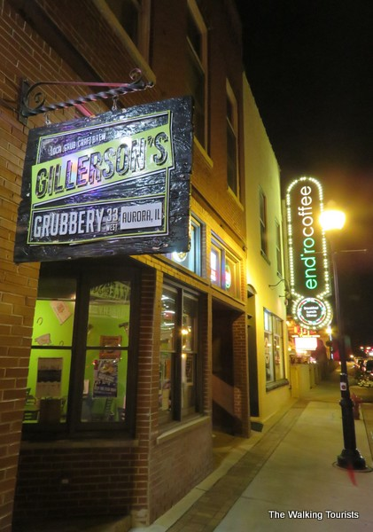 Gillerson's Grubbery is a popular spot during dinner.