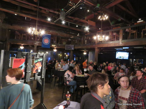 Two Brothers Roundhouse is a gathering spot for area residents.