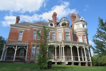 The McInteer Villa is one of several homes believed to be haunted in Atchison, Kansas.