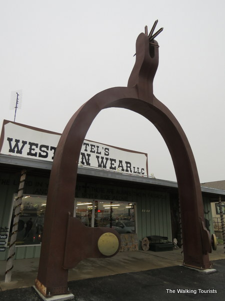 The world's largest spur.