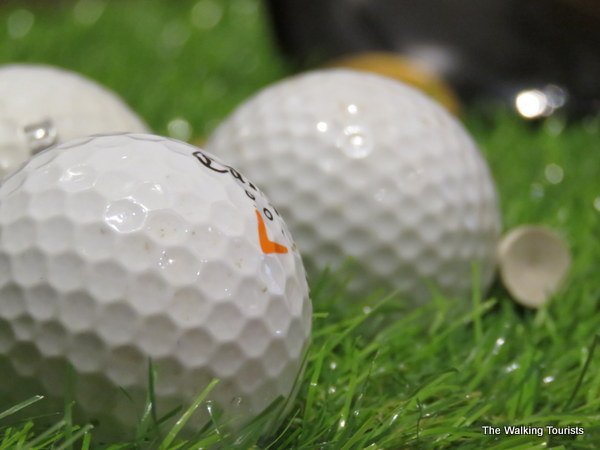 A look at golfing at the Jeffcoat museum.