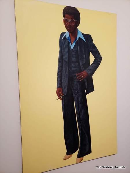 """Jive Talkin'"" Fast Eddie features a sharply dressed African American."
