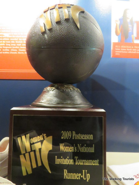 The KU women's basketball program won a National Invitational Tournament championship.