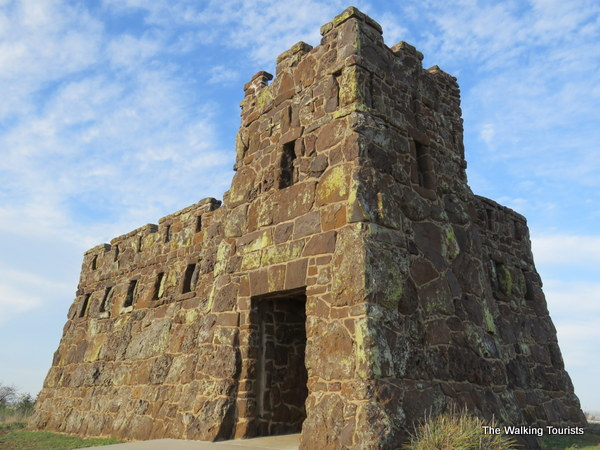 Coronado Heights is made from limestone and resembles a Scottish castle