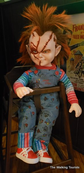 Chucky doll from Child's Play