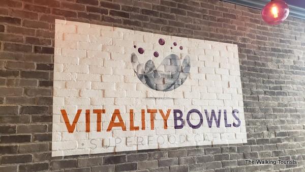 Vitality Bowls sign