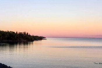 Duluth at sunset
